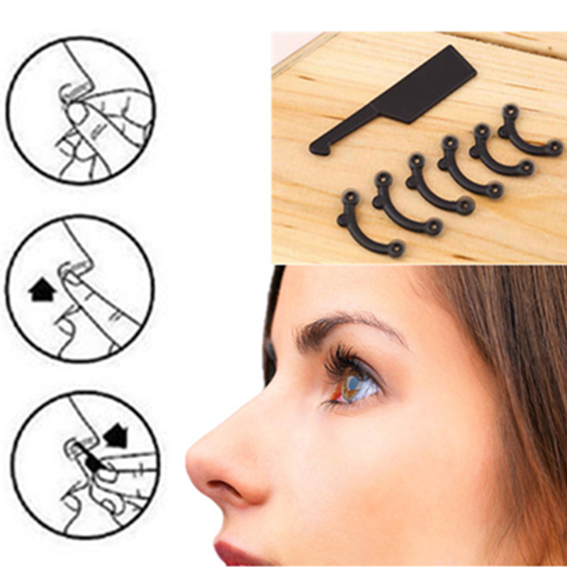 20 коробки Красота нос Подъемные мост Shaper клип массаж инструмент без боли Нос Формирование Клип Clipper Для женщин Девушка массажер инструмент
