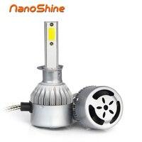 Nanoshine Super Bright Car Headlight Led H7 H4 H8 H11 HB3 9005 HB4 9006 H1 72W