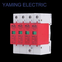 SPD 30 60KA/4P 3P+N 385V420 electric House Surge Protector Protective Low Voltage Arrester Device circuit fault fehlerstrom