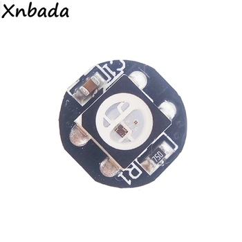4-Pin WS2812B Led Chip With Heatsink WS2811 Built-In Individually Addressable IC WS2812 5050SMD Black/White PCB DC5V