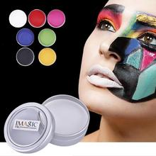 IMAGIC 12g Face Paint Body Painting 7 Colors Choice Safety Drawing Pigment Water-based Makeup Cream Paste Party Halloween Z3