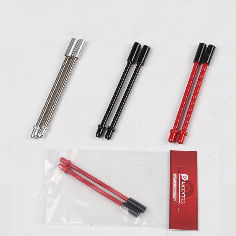 20Pcs 90 Degree Bicycle Bike Flexible V Brake Tube Cable Noodle Guide Hoses