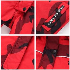 Image 4 - ออร์แกนิกเด็กฤดูหนาวเสื้อผ้าอบอุ่นOuterwear & Coatsเป็ดกันน้ำสวมOuterwearฤดูหนาวแจ็คเก็ตเด็กเสื้อ