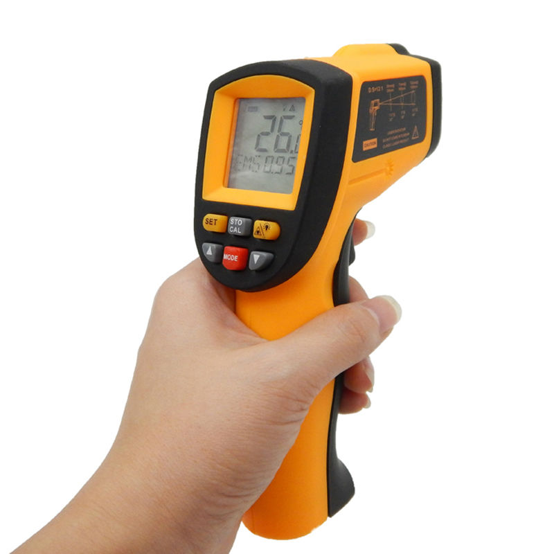 ФОТО Non-Contact LCD Laser Point IR Infrared Thermometer GM900 GunTemperature Meter Tester Free shipping