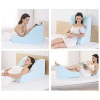 NOYOKE Memory Foam Zurück Kissen Weichen Komfort Atmungs Bett Rückenlehne Abnehmbare Pad Langsam Rebound Kissen