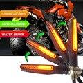 Мигающие СВЕТОДИОДНЫЕ сигнальные огни для мотоцикла  мигающие огни для honda st1300 honda cb400 bmw r1200rt g310r xt660