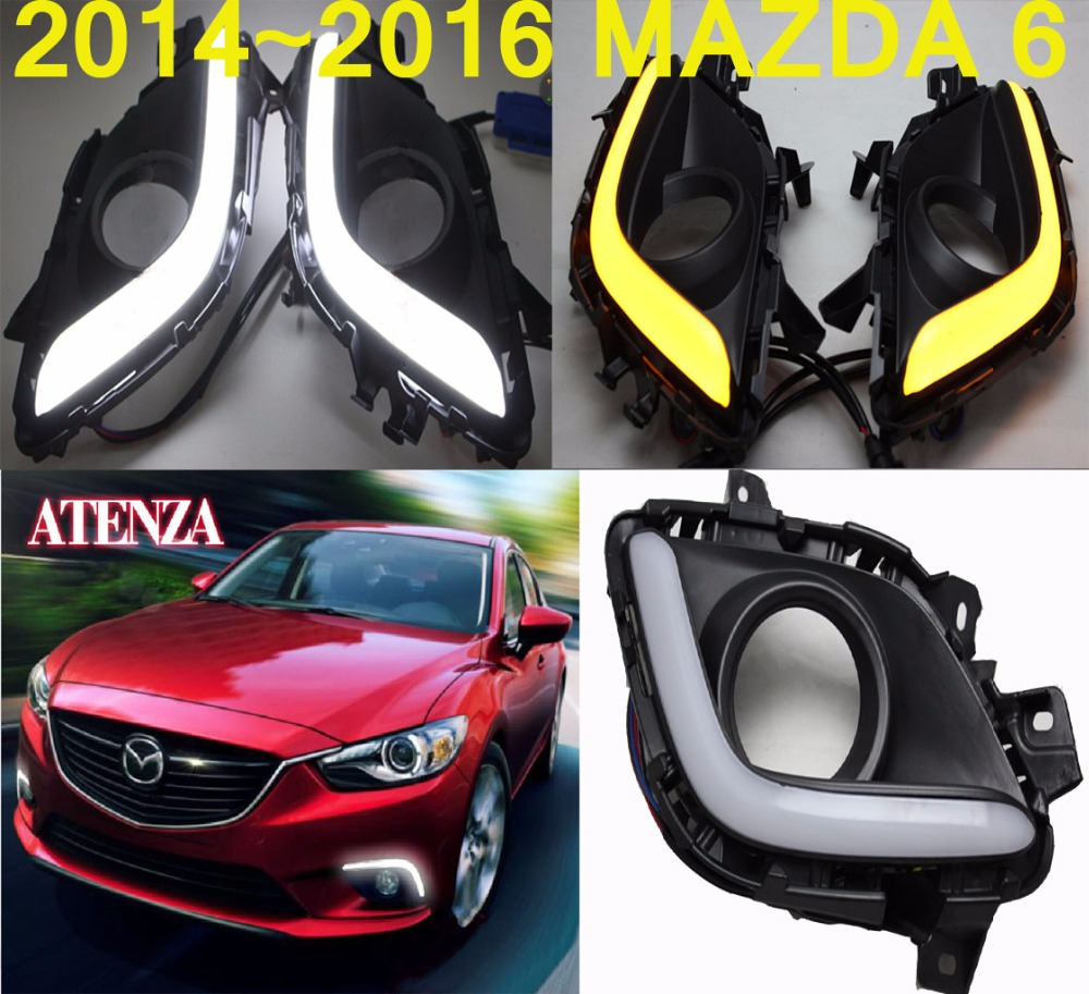 LED,2014~2016 Mazd6 Atenza daytime Light,Atenza fog light,Atenza headlight;Tribute,RX-7,RX-8,Protege,MX-3,Miata,CX4,Atenza lamp mazd6 atenza taillight sedan car 2014 2016 free ship led 4pcs set atenza rear light atenza fog light mazd 6 atenza axela cx 5