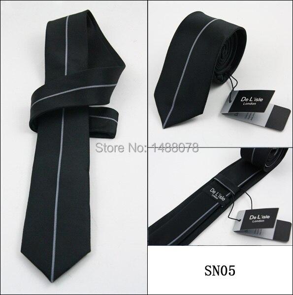 Gray Striped Black Ties 2M8-4+