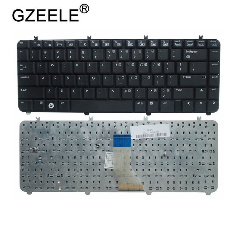 GZEELE English Laptop Keyboard For HP Pavilion DV5 DV5-1000 DV5t-1000 DV5z-1000 DV5-1100 Dv5t Dv5z Keyboard BLACK