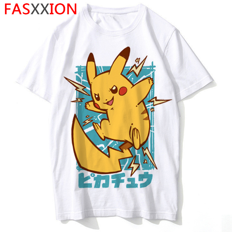 d5e9781ce font-b-pokemon-b-font-pikachu-t-shirt-. Pokemon Pikachu T-Shirt Men/women  Fashion Funny Cartoon Printed T Shirt Short Sleeve Casual Tshirt Hip Hop ...