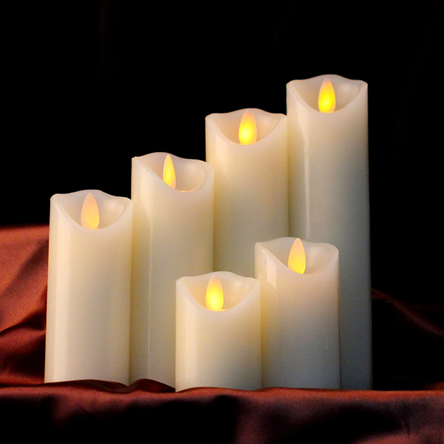 Flameless Led Wax Candle Light,christmas Candle Supplies