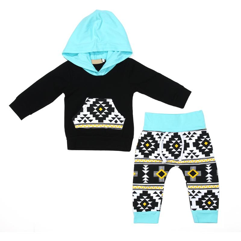 Pure Cotton Baby Girl Winter Clothes Set Infant Black Clothing Baby Boy Winter Tops Long Pants Toddler Bodysuit Set