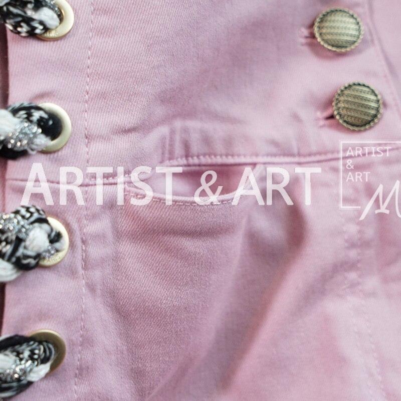Sexy Shorts Hohe Frauen Svoryxiu Rosa Designer Sommer Mode 2019 Verband Neue Marke Taille Baumwolle 8nZYR86