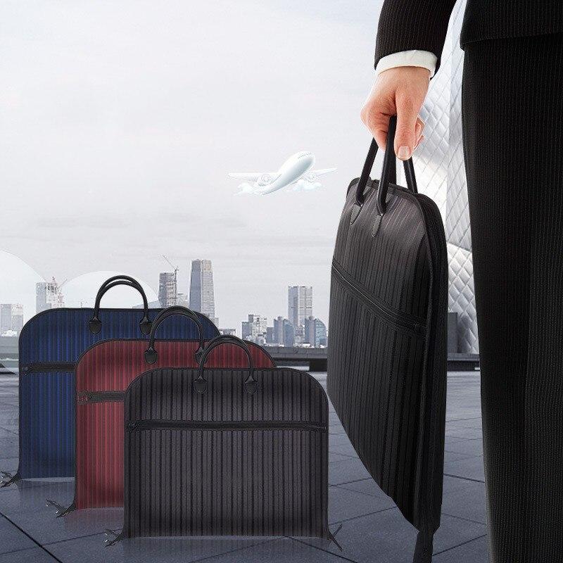 JXSLTC Business Bag Men Business Suit D' Water Suit Nylon Bag Travel Suit Storage Bag Suitable For Suit Hanging Bag 2018 11.11
