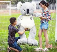 1 Pcs Nice Soft 75cm Giant Australia Koala Cotton Plush Soft Toy Pillow Doll Stuffed Animal Gift