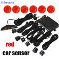 4pcs Sensors 9 colors for option Car LED Parking Reverse Backup Radar System with Backlight Display monitor best selling
