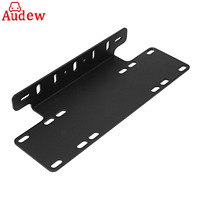 1pc Car Front Bumper License Plate Mount Bracket Holder For LED Light Bar LED Work Lights