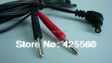 100 Pieces Jack DC Head 2.35mm Electrode Lead Wires Plug 2.0mm For TENS Unit 7000