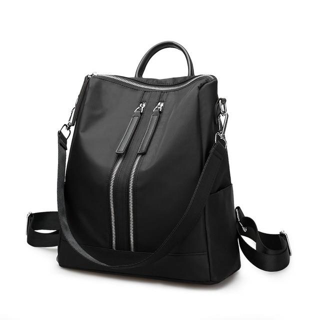2018 Women Backpack Waterproof Nylon Student School Bags Korean Girl  Backpacks Female Casual Travel Bag Ladies mochila feminina fec67f3529