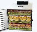 Edelstahl 12 Schicht Obst Trockner Maschine Kommerziellen Obst Gemüse Tee Dörr Kleine Trocknen Ofen Luft Trockner-in Wäschetrockner aus Haushaltsgeräte bei