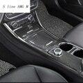 Auto Styling Zentrale Steuerung dekoration Aufkleber Für Mercedes Benz CLA C117 GLA X156 Wasser Tasse speicherplatte trim autozubehör