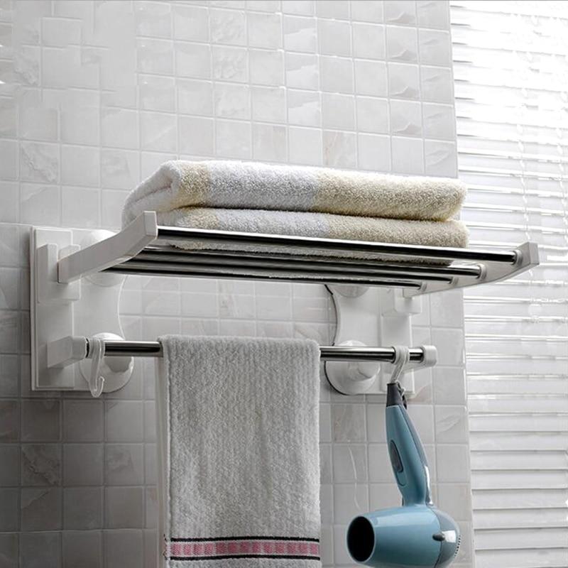 40 cm dolge sesalne palice brisače iz nerjavečega jekla kopalniške - Organizacija doma