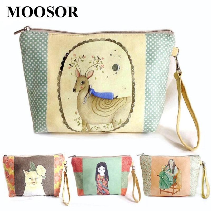 2018 Women Bags Fashion Coin Bag Canvas 11 Colors Zipper Women Coin Purse Wallet Day Clutch Travel Organizer Storage Bag H13