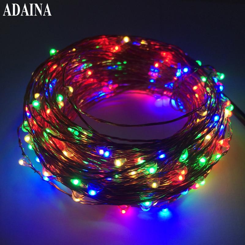 ⑤Flash 30 M 300 LEDs 12 V Fil De Cuivre Guirlande LED Lumi¨res De