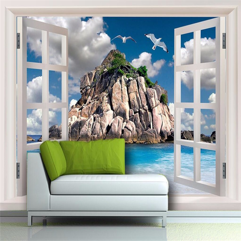 Beibehang 3d Wallpaper Mural Decor Picture Backdrop Living