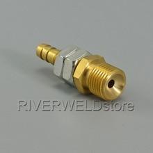 TIG фонарь M16x1.5 газовый ниппель 8 мм сварочный фитинг соединитель