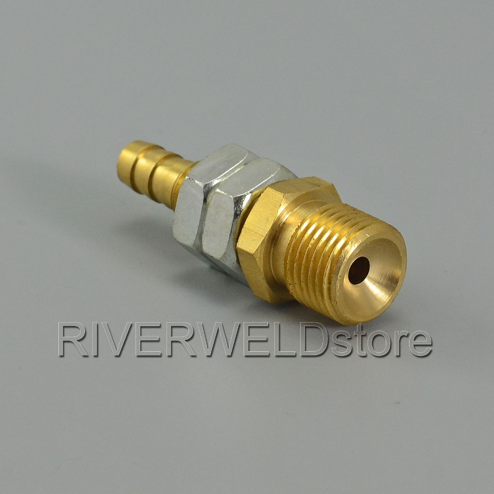 TIG Torch Fitting M16x1.5 Gas Nipple 8mm Welding Fitting Connector