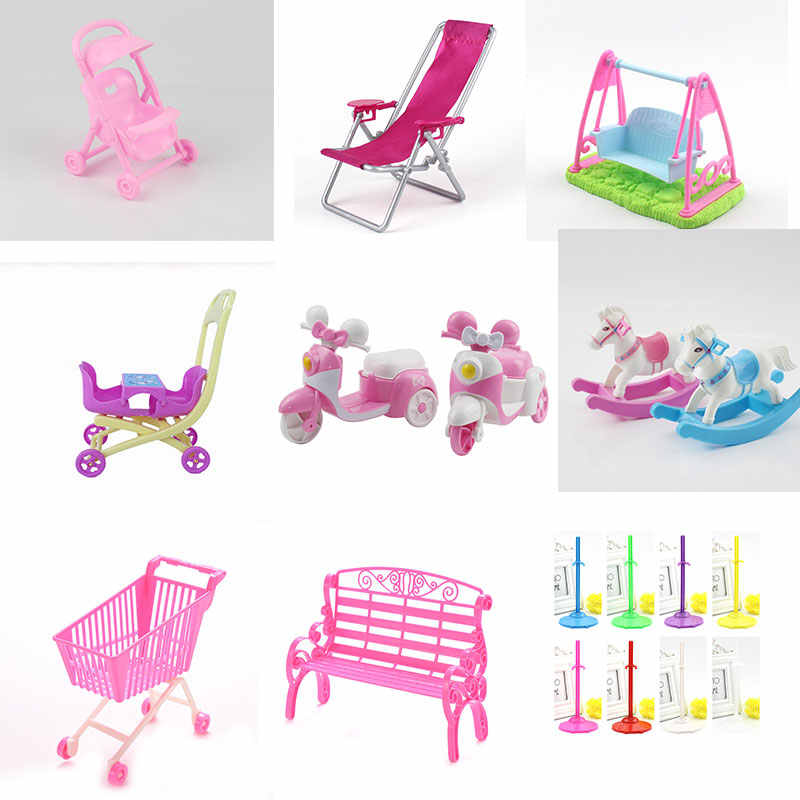 Cute Princess Stroller Cart For Girl Boy Kids Gift Doll Accessories Furniture Gadgets Learning Education Funny Interesting Toys