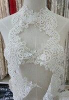 Embroidery Beading Lace Trim Wedding Dress Lace Trim Curtain DIY Lace Trim