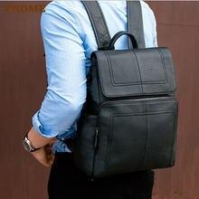 Рюкзак pndme для ноутбука простой Повседневный из воловьей кожи