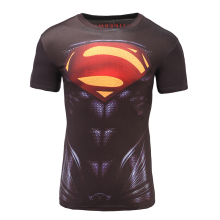 2017 GYMGALA America Captain War 3D T Shirt Tee Tops Men Printed Avengers Short sleeves T-shirts man Fitness Clothing Male