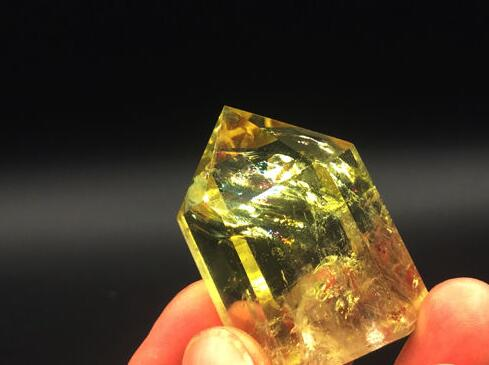 Stones Home & Garden Aa J00834 Long Aaa Natural Citrine Smoky Quartz Crystal Point Healing