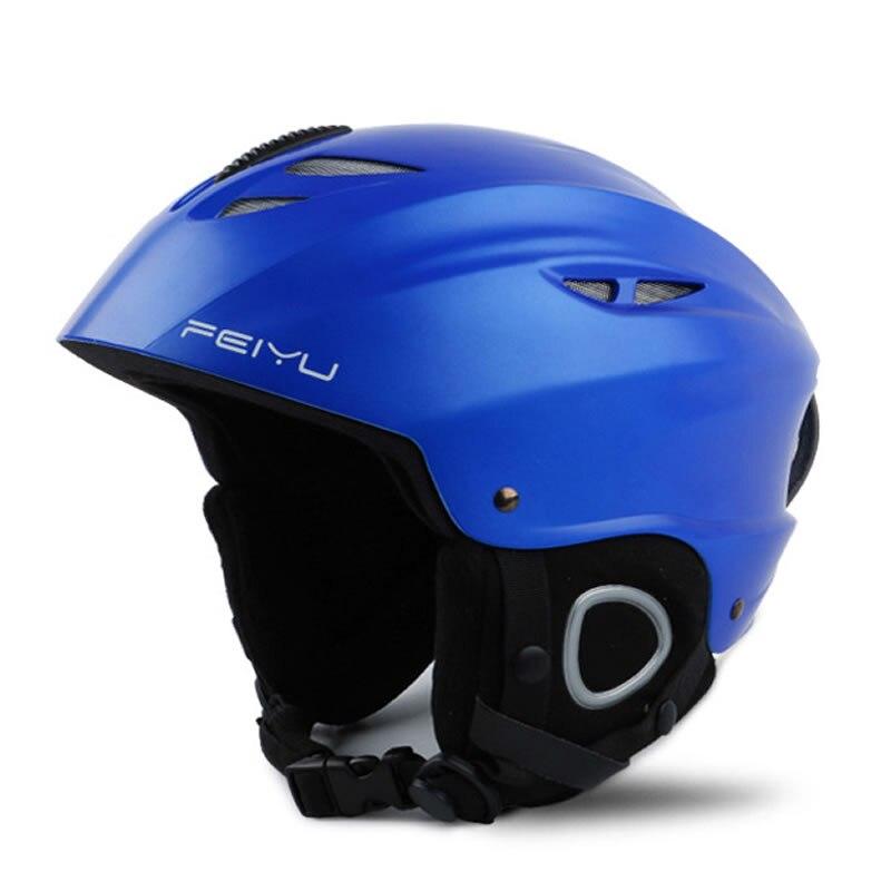 Homme femme casque de Ski intégral-moulé Snowboard casque Skateboard sûr masque Moto vélo cyclisme escalade Ski/luge sport sécurité