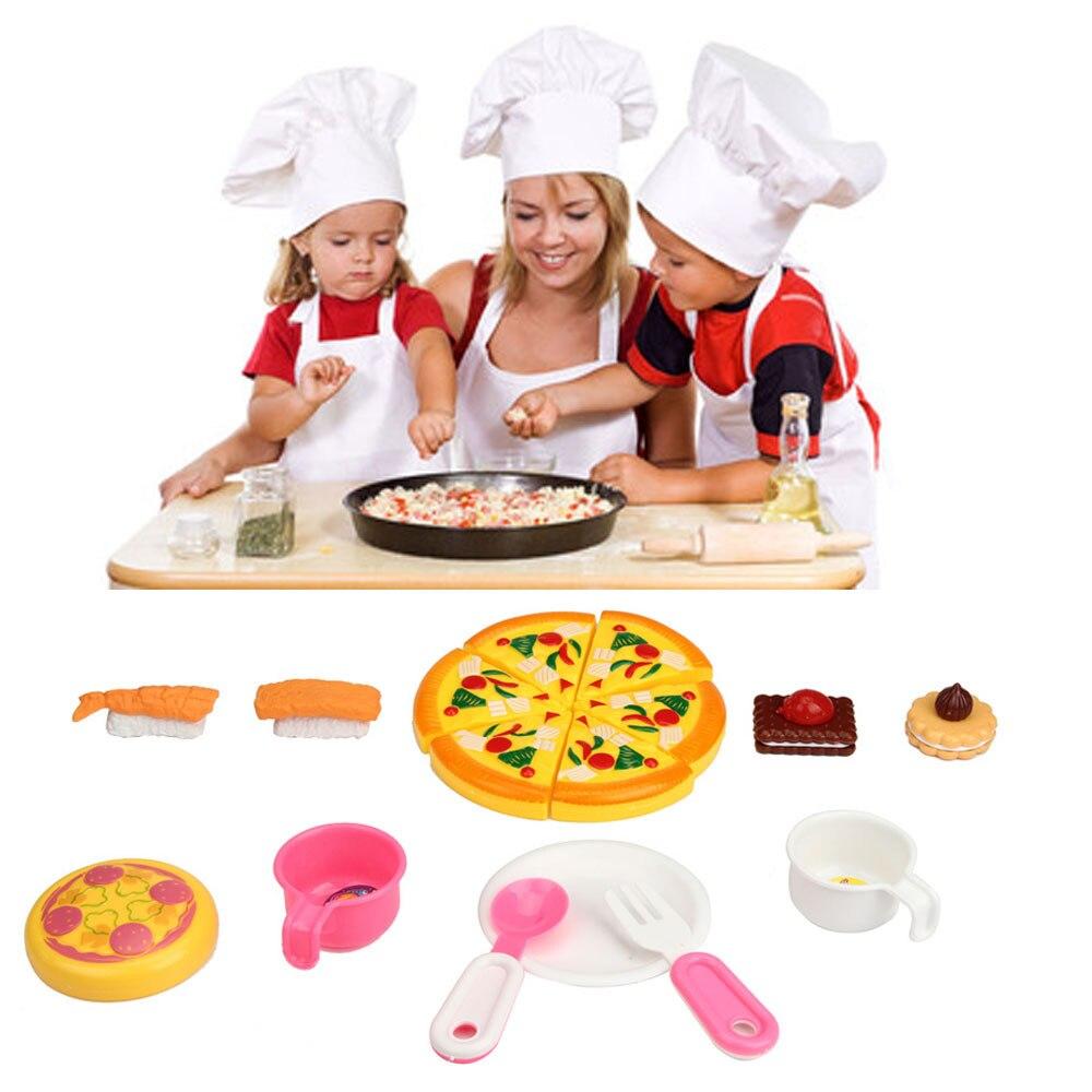 hot unids playhouse juguetes pequeo chef de cocina utensilios de cocina de simulacin nios juguete de agosto