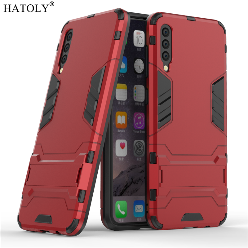 Image 3 - For Samsung Galaxy A70 Case Soft Silicon + Hard PC Cover Shockproof Armor Bumper Case For Samsung A30 A40 A50 A60 A70 A80 Case-in Fitted Cases from Cellphones & Telecommunications
