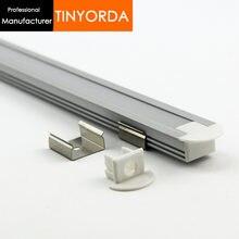 Tinyorda 500 шт (длина 2 м) светодиодная лента из алюминия профиль