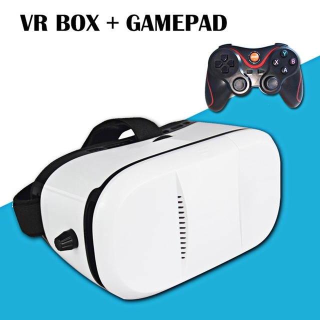 BOBO VR Xiaozhai Z3 Universal Virtual Reality 3D Video Glasses VR Box with Bluetooth Gamepad for 4 to 6 inch Smartphones
