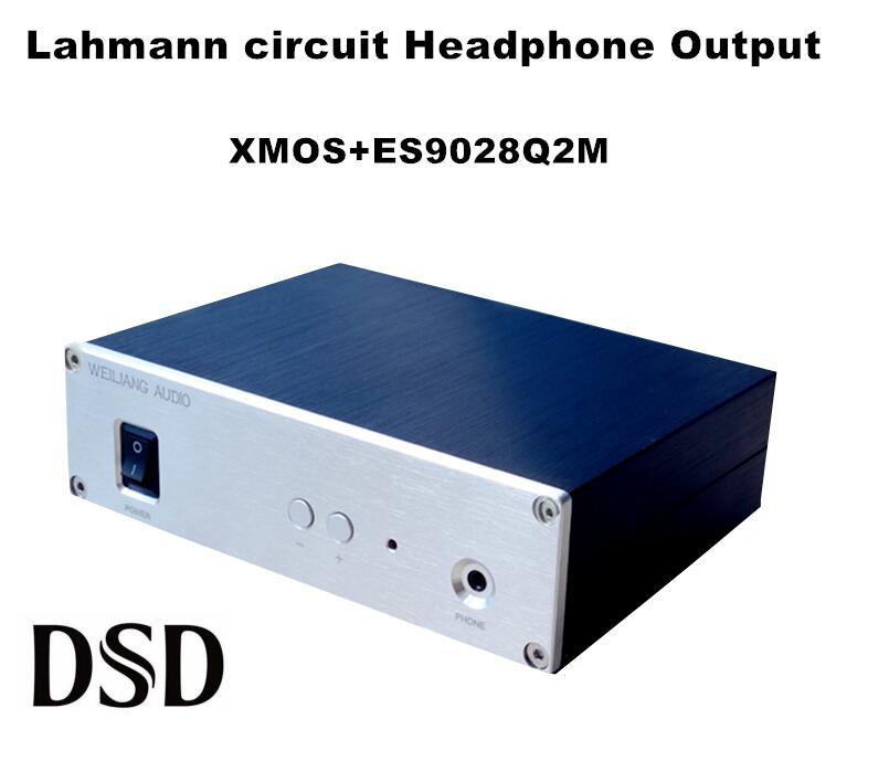 2017 New Nobsound HiFi ES9028Q2M  Headphone Amplifier Xmos DSD USB DAC Decorder 24BIT/192K for Win MAC