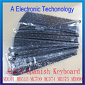 A1278 Spanish Keyboard For Apple Macbook Pro 13'' A1278 Spanish ES Keyboard Replacement MD101 MD313 MC700 MC374 MB375 MB990