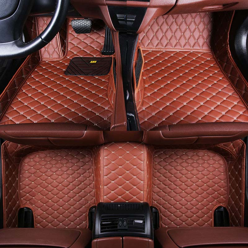 Car wind leather car floor mat for Mercedes Benz W203 W204 W205 C class 180 200 220 250 300 350 C160 rug Carpets car accessories mini rf radio frequency skin lifting tighten ems microcurrent face and body slimming beauty massager