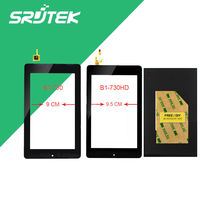 For Acer Iconia One 7 B1 730HD A1402 LCD Display Panel Screen Monitor Touch Screen Digitizer
