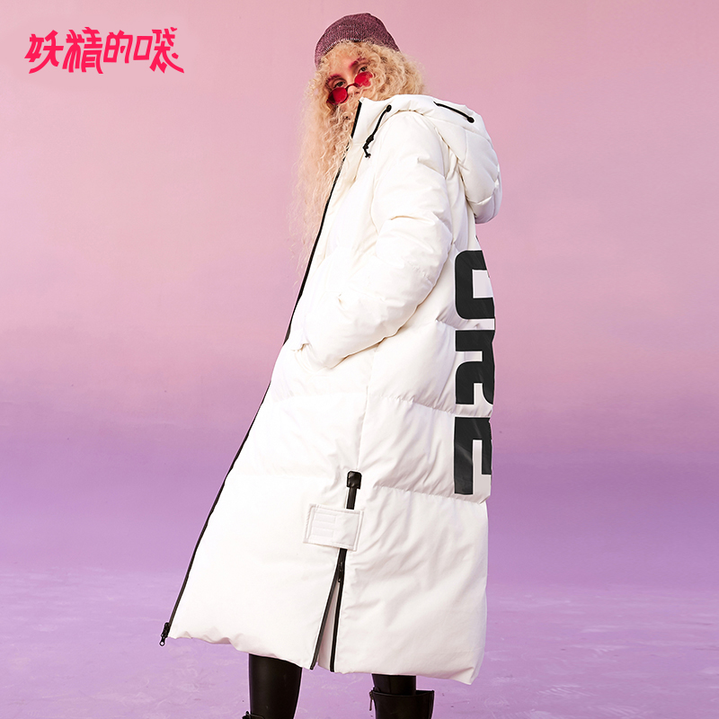 ELF SACK Winter New Warm Woman Down Coat 90% White Duck Down Thick Full Loose Women Jackets Casual Loose Femme Padded Coat