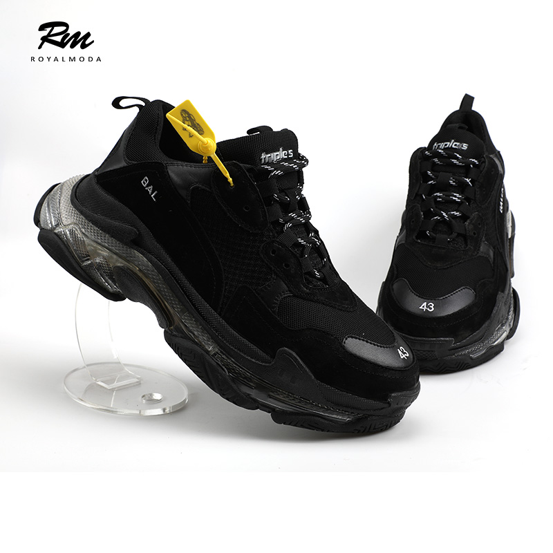 Mujeres Hombres Deporte Marca fushia 2019 Casuales De Zapatillas Moda Y Bal S Suela Zapatos Negro Para Black Eu43 Triple Eu39 Personalización OS61xOqWwP
