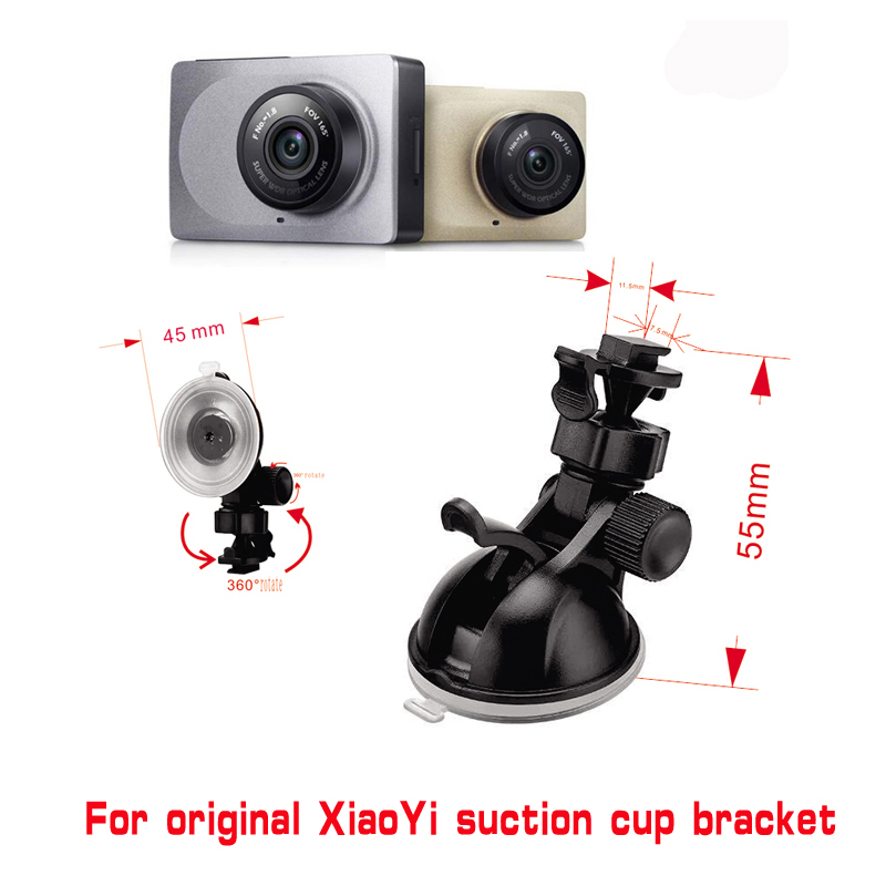 For Xiaomi YI GoPro Smart Car DVR 360 Degree Rotating Car Holder for Sport DV Camera Mount DVR Holders Driving Recorder Car Cup