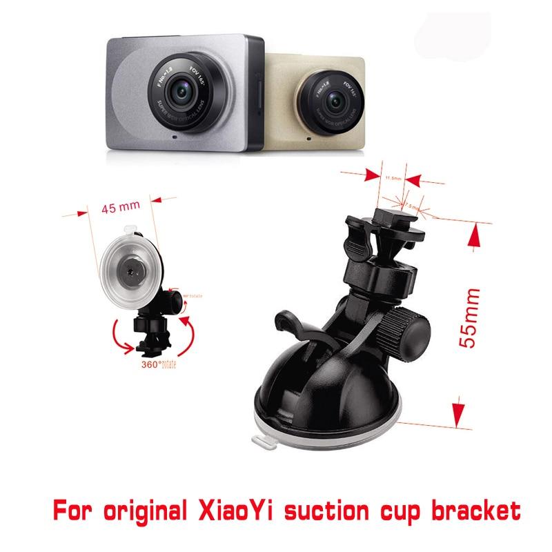 Per Xiaomi YI GoPro Smart Car DVR 360 Gradi di Rotazione Auto supporto per Lo Sport DV Camera Mount Titolari di Guida Auto Registratore DVR tazza