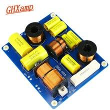 Ghxamp tweeter + duplo alto falante baixo crossover 2500 hz 2 vias crossover 800 w agudos dupla woofer divisor para 15 polegada fase alto falante 1pc